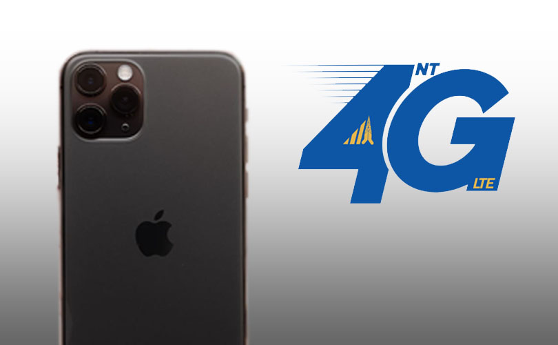 iphone new update to ntc 4G
