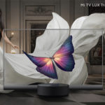 MI TV LUX world's first transparent tv