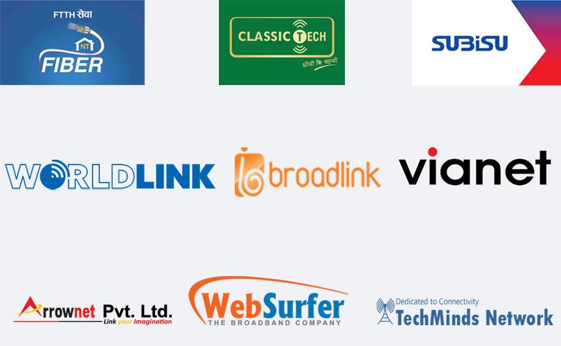 Major ISP in Nepal