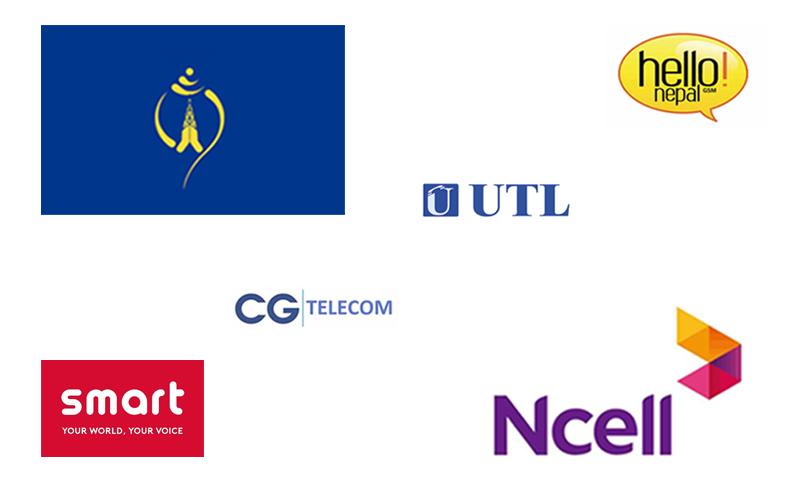 Telecommunication operators in Nepal