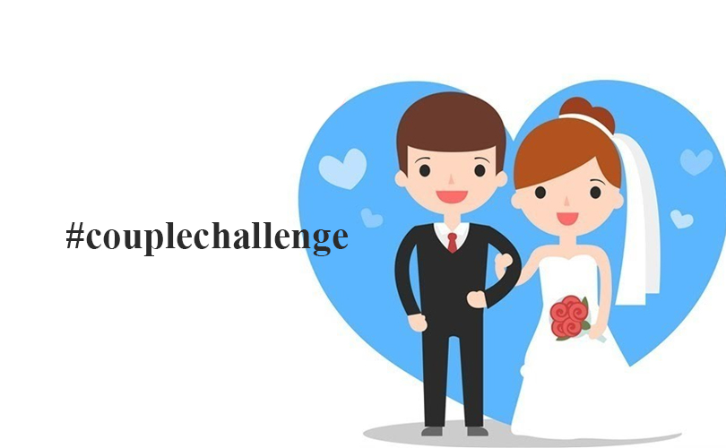 Couple challenge trend on social media