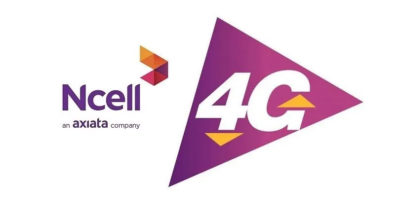 ncell 4G in 71 districts in Nepal