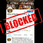 President of Nepal's Twitter ID blocked