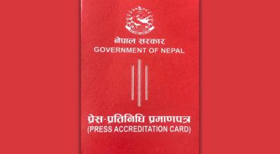 press accreditation nepal