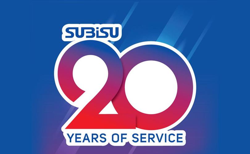 20 years of subisu