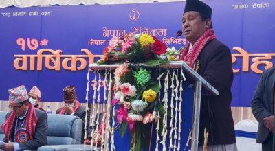 Nepal-telecom-anniversary-parbat-gurung-techpana