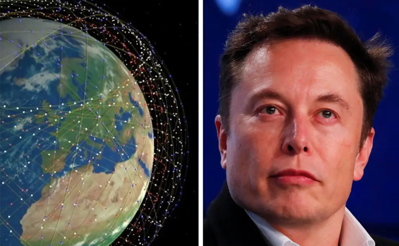 Elon Musk Starlink Satellite internet