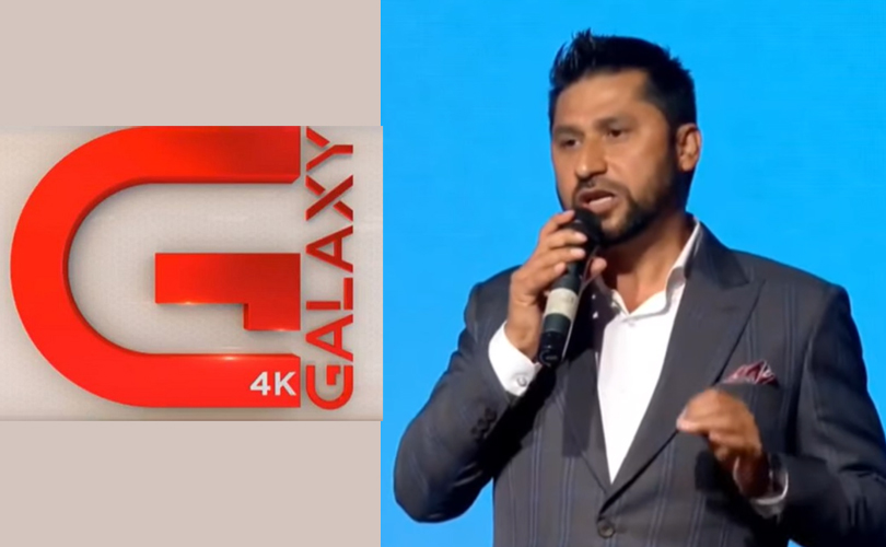 Rabi lamichhane nepal's 4K tv galaxy