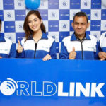 Shrinkhala Khatiwada as a brand ambassador for worldlink
