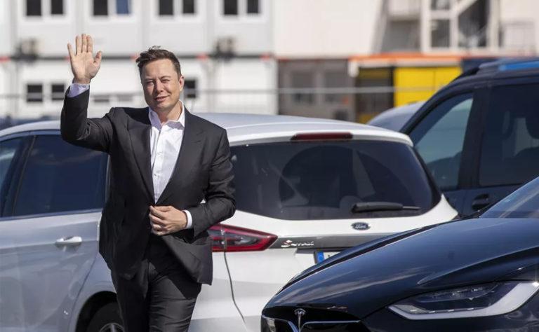 Elon Musk car tesla in india