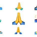 folded hand emoji