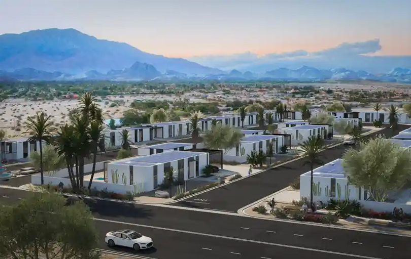 California will soon be home to the world's first 3D-printed housing community and it's powered by solar and a Tesla Powerwall