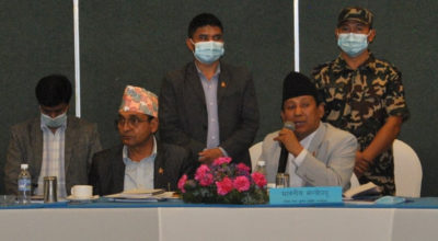 Parbat Gurung Minister of Communication and information technology nepal