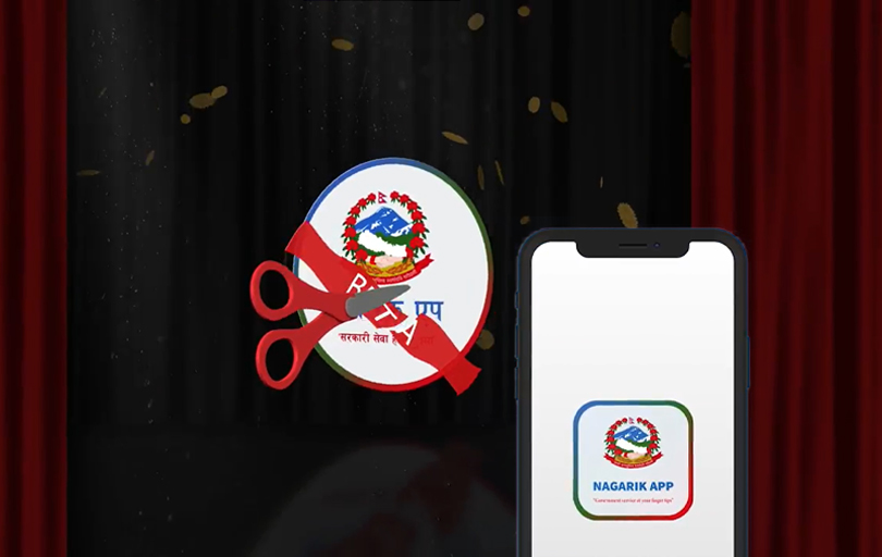 Nagarip App Formally launched by prime minister KP Sharma Oli