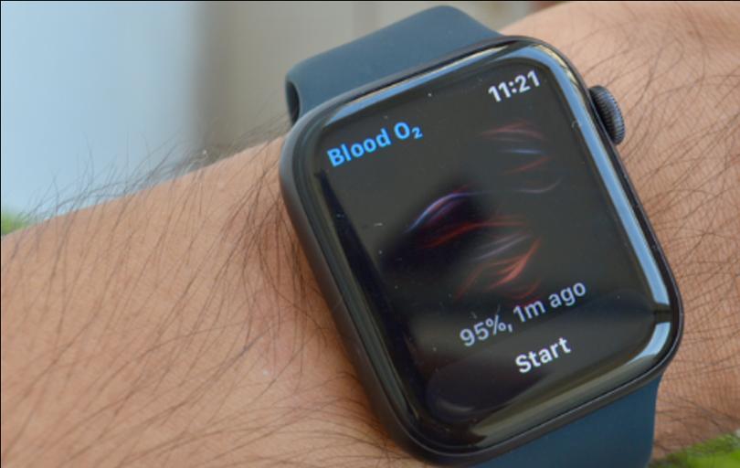 blood o2 monitoring smartwatch