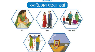 individual incident online registration in nepal