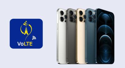 Nepal Telecom NTC VoLTE on IPhone