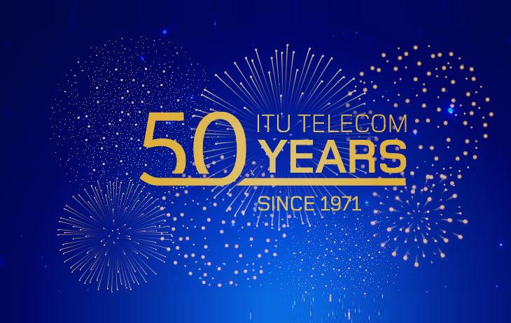 ITU Telecom celebrates its 50th anniversary