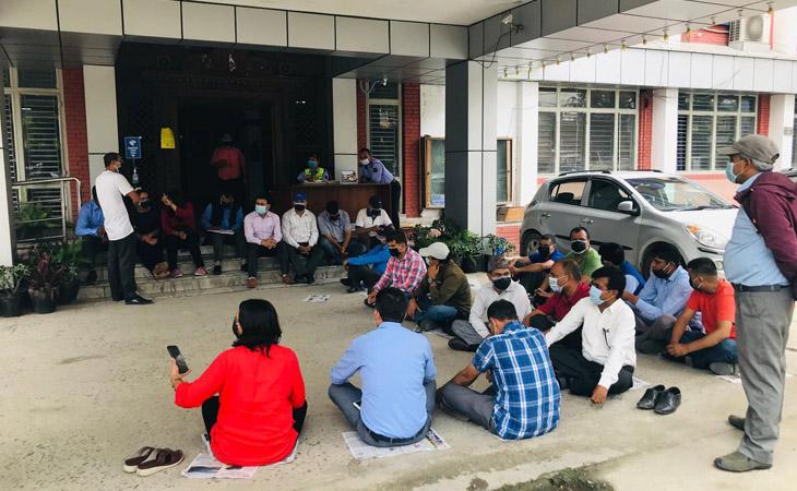 Nepal-telecom-worker-union-techpana