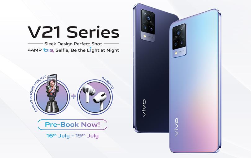 Vivo V21 smartphone pre booking in Nepal
