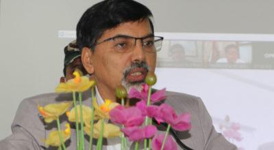 Finance Minister Janardan Sharma