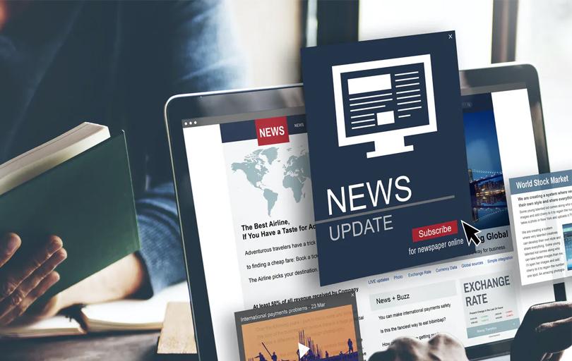 Government Public Announcement Ads on Online news portal