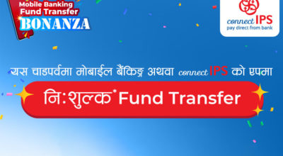 connect ips free fund transfer service